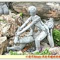 泰式按摩雕像