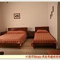 聖多里尼的房間,因為訂房有一些問題,老闆給我們三人房