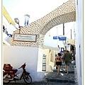 Santorini的街道