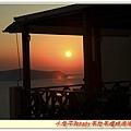 Santorini的夕陽