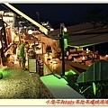 詭異綠光的餐廳