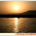 尼羅河的夕陽