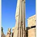 刻有下埃及代表植物的柱