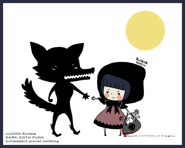小黑帽的黑野狼-中秋