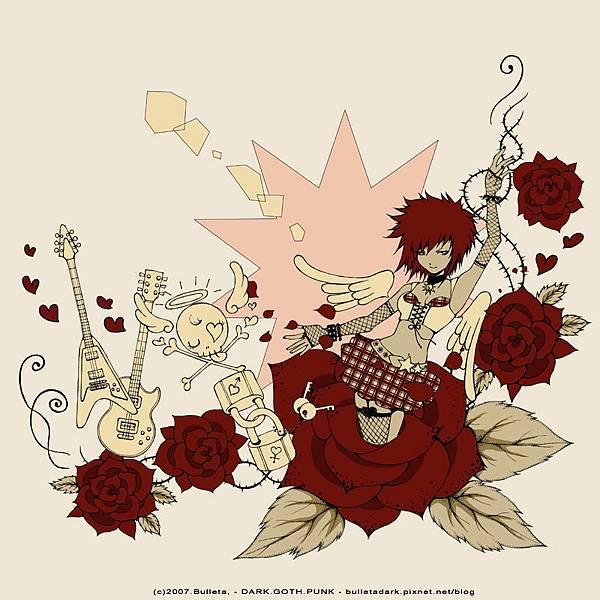初夏的薔薇a-1