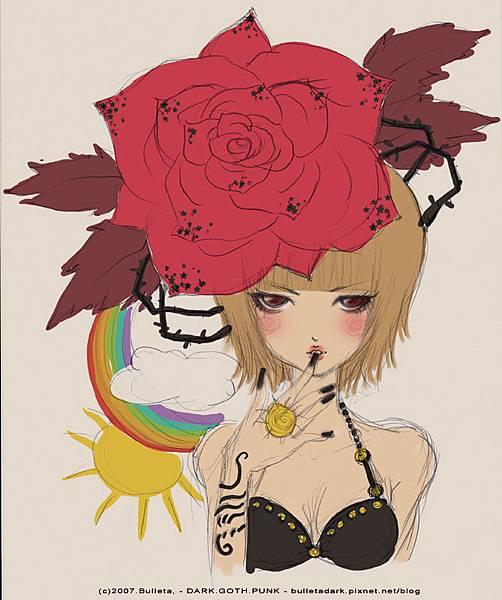 初夏的薔薇b草稿