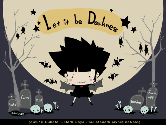 let it be darkness