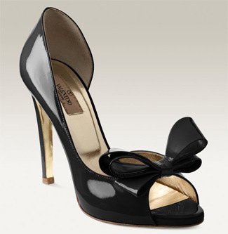 Valentino Bow Detailed Patent Leather d'Orsay Pump black.jpg