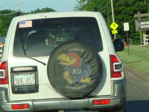 Kansas 的 mark