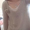 JK 花朵針織衣