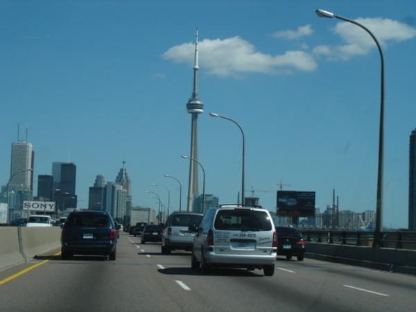 CN tower & Toronto City