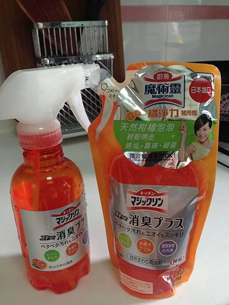 花王Magiclean 魔術靈橘淨力廚房清潔劑