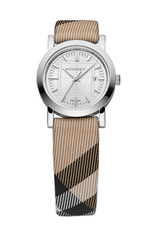 Burberry Ladies' Small Check Strap Watch.jpg