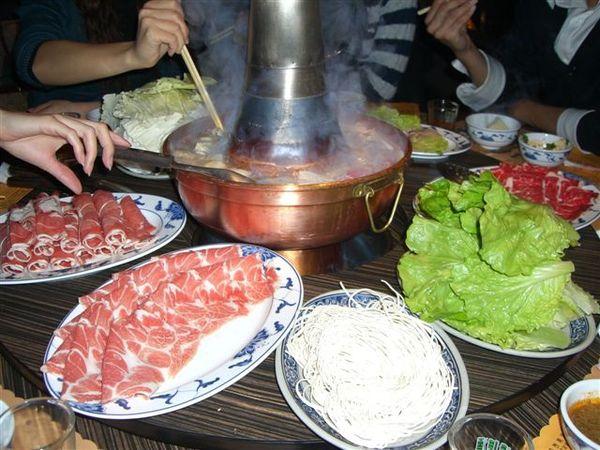 元世祖涮羊肉真的很好吃