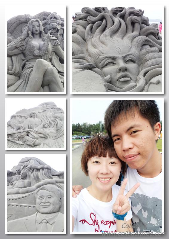 2013不用跑去福隆也可以欣賞到南部的沙雕藝術季喔!