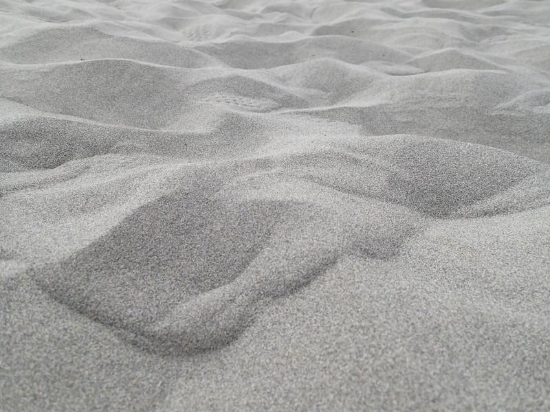 這裡的沙好細緻.踩起來很舒服