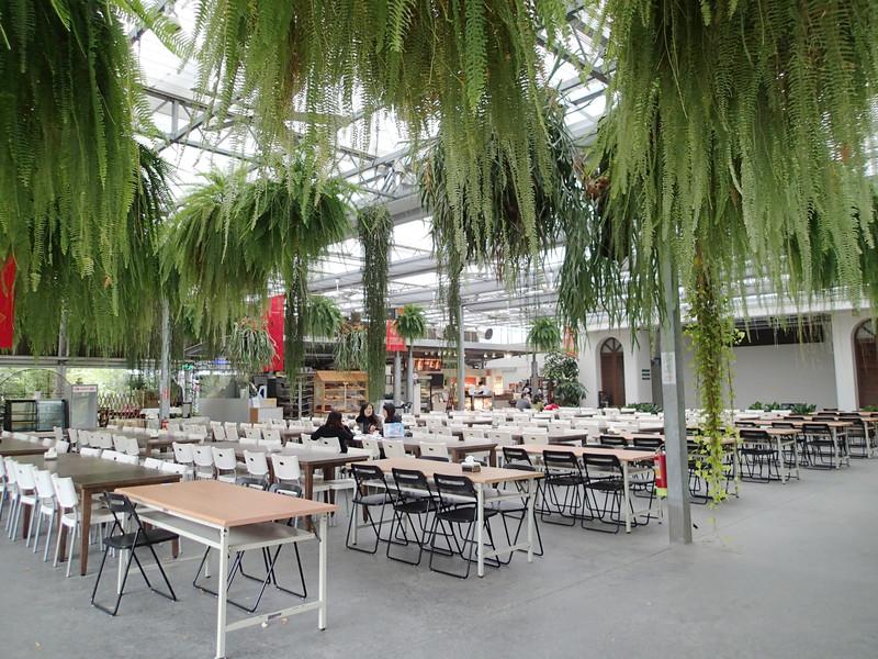 比較中間的用餐區.有在雨林的感覺.也是很讚