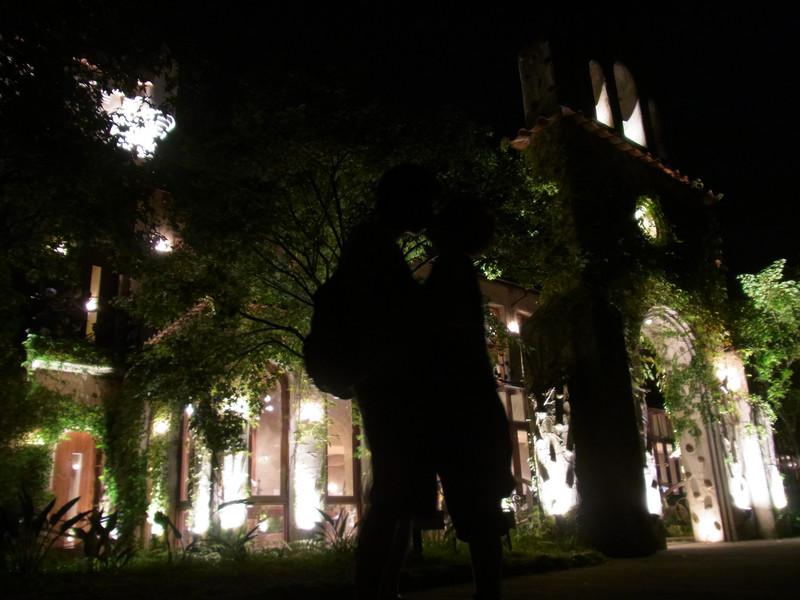 最後天才阿呆的剪影在古堡前結束了這趟旅程^_^