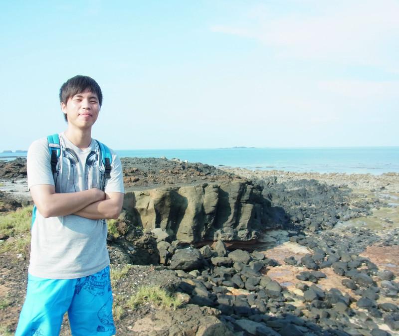 另一側看赤嶼的岩石.這裡真的很適合觀察澎湖地質