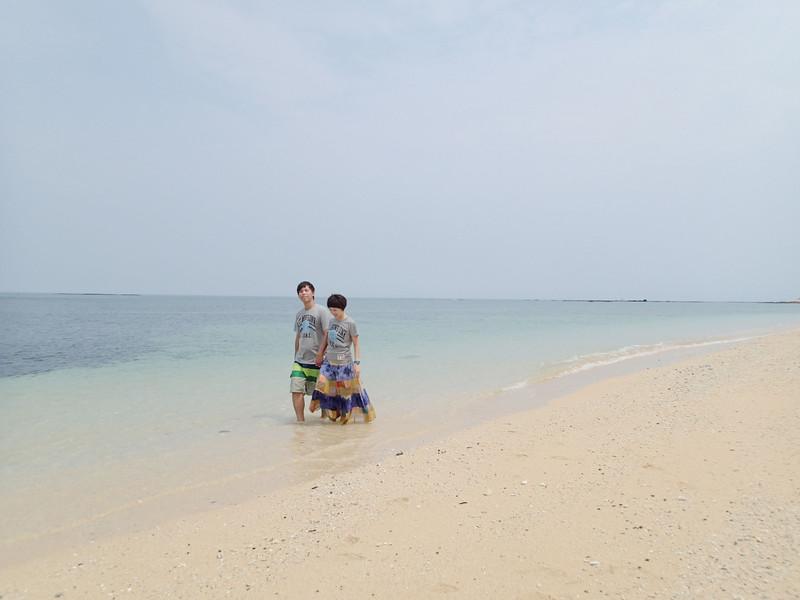 來海邊一定要的假仙照呀^_^超美.超幸福.超悠哉的對吧!