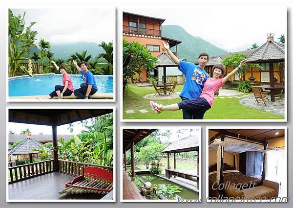 很幸運的住進峇里峇里渡假villa.不出國一樣可以很峇里島...