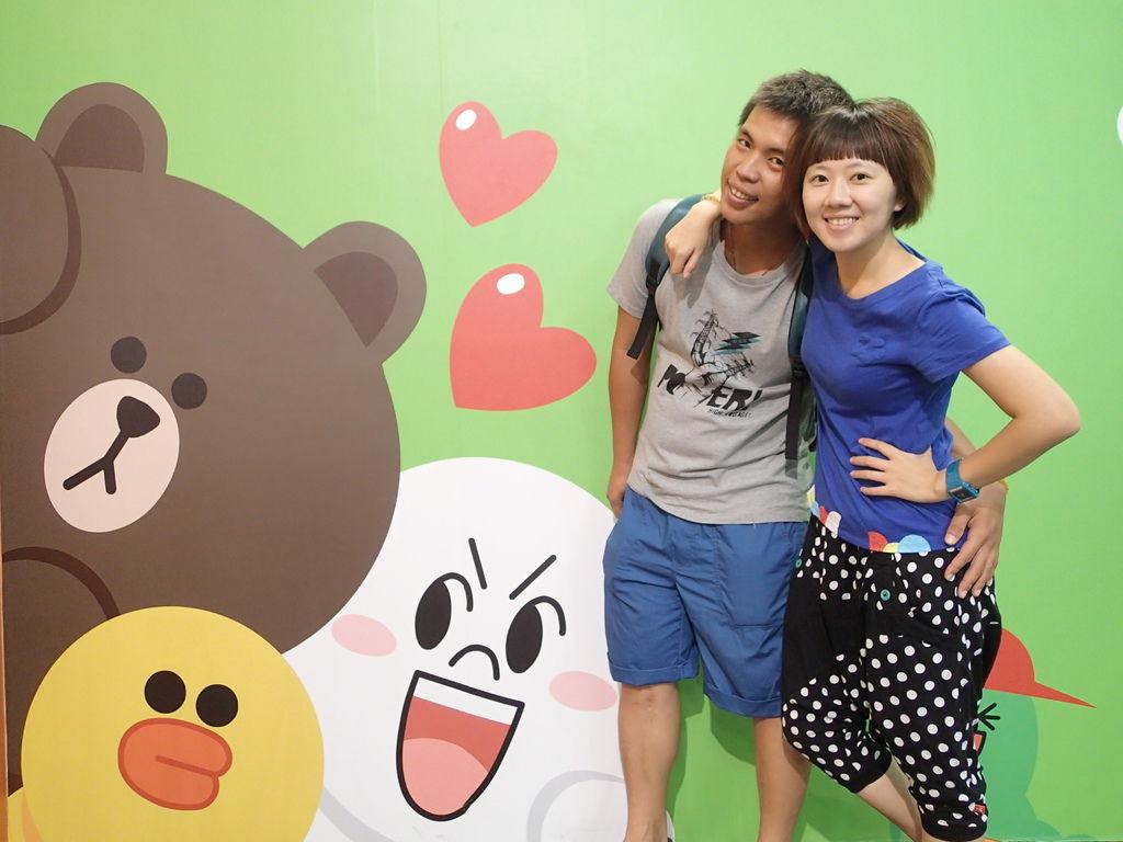 Line樂園~好好拍~好可愛!