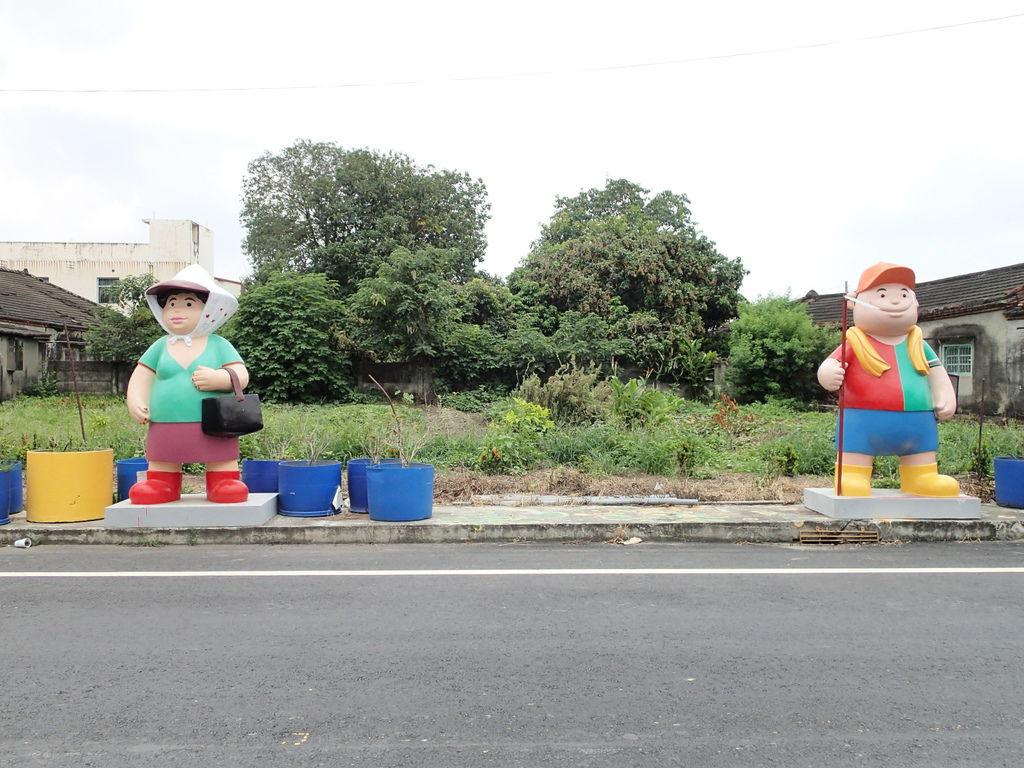 嘉義縣的代表公仔.農民和農婦