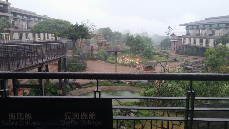 這回天才與家人們帶孩子們來六福村玩.順便入住六福莊生態渡假旅館