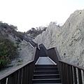 步道的規畫相當好.真是讓我意外月世界地景公園做得這麼棒