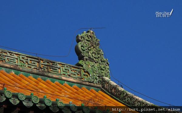 須彌福壽之廟精緻的琉璃瓦吻獸.jpg