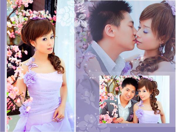 14.櫻花.紫色蝴蝶jpg