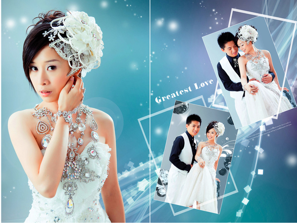 2.水晶禮服-永恆的璀璨