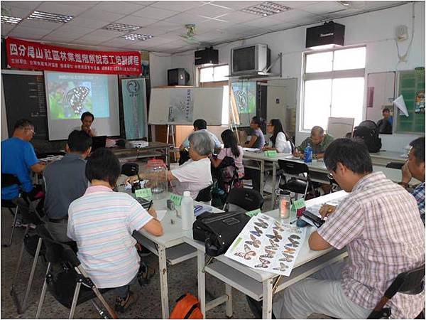 2013年7月27日進階解說志工培訓活動紀錄
