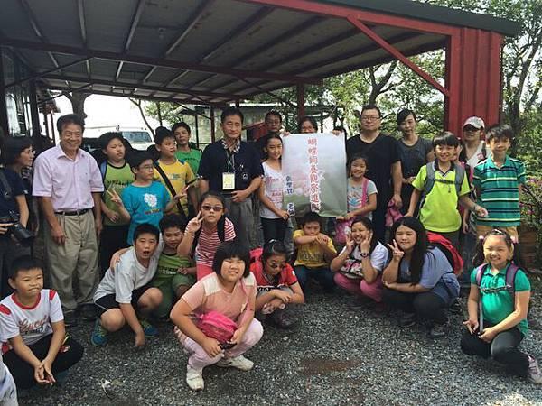 2014年9月27日四分尾山社區斑蝶、生態觀察與解說深根計畫