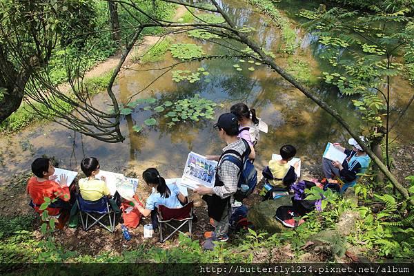 2016年4月23日四分尾山社區躍動山林計畫