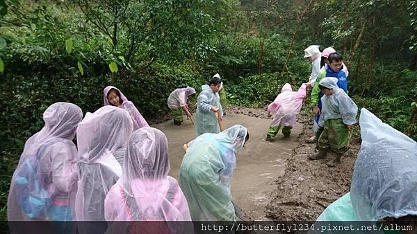 2016年10月29日四分尾山社區3C解碼山溪計畫~認識台灣原生魚及營造在地原生魚的家