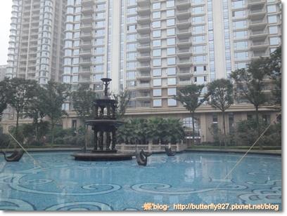 社區一樓噴泉造景