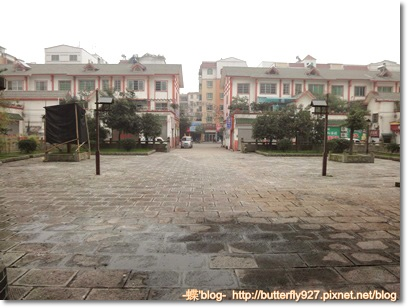 桐梓海校的升旗廣場