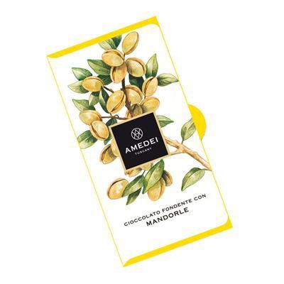 Extra Dark Chocolate 63% with Almonds