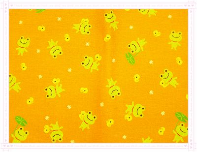 小青蛙˙小黃鴨(橘色)