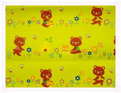 愛吃蜂蜜ㄉ小熊熊(蘋果綠色)