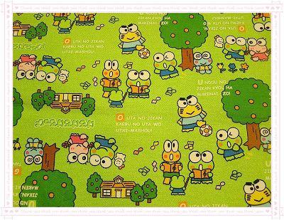 卡通布146(綠色)