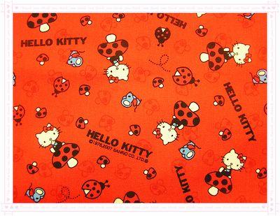 香菇˙瓢蟲Kitty(紅色)