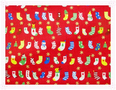 聖誕襪!來囉~(紅色)