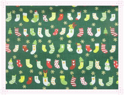 聖誕襪!來囉~(綠色)