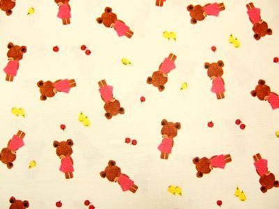 小熊的學校*水彩風*