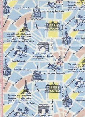 巴黎鐵塔【粉藍色】