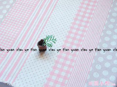 條文水玉格子棉麻布(粉紅色)