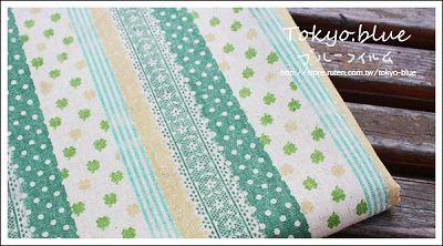 幸運草水玉蕾絲(綠色)