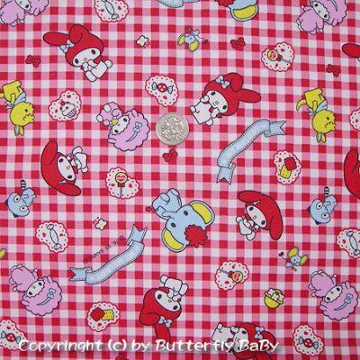美樂蒂、小綿羊、寶貝象(紅色)